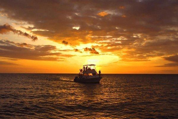 cozumel sunset boat